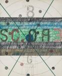 Georges Noël _Score_ 1968, dessin, technique mixte sur papier épais, 60,5 x 50,5 cm#021C.jpg